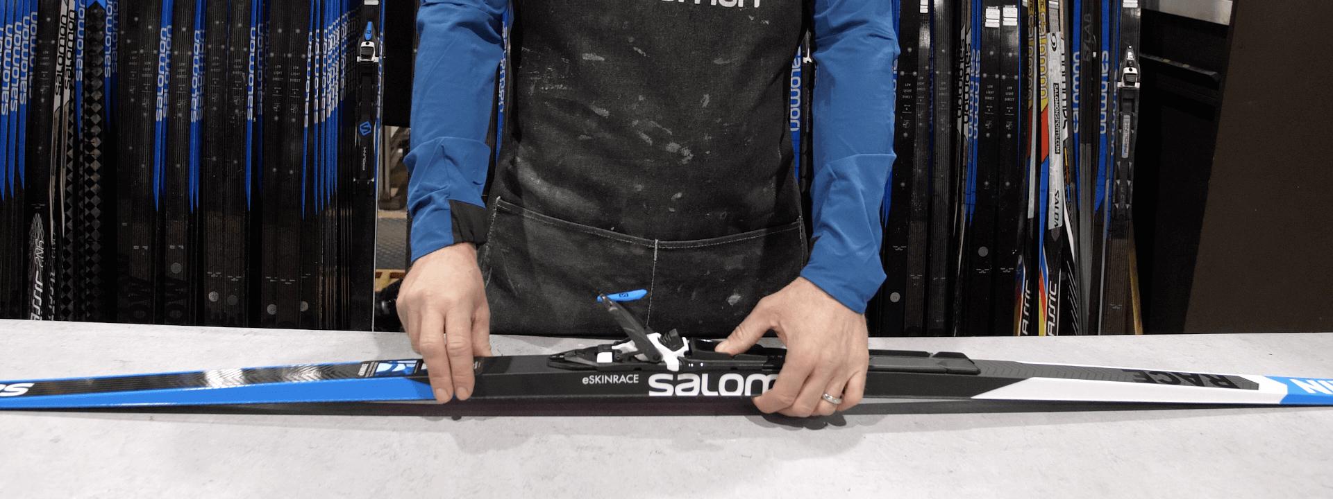 ¿Cómo ajustar adecuadamente las fijaciones de esquí de fondo?