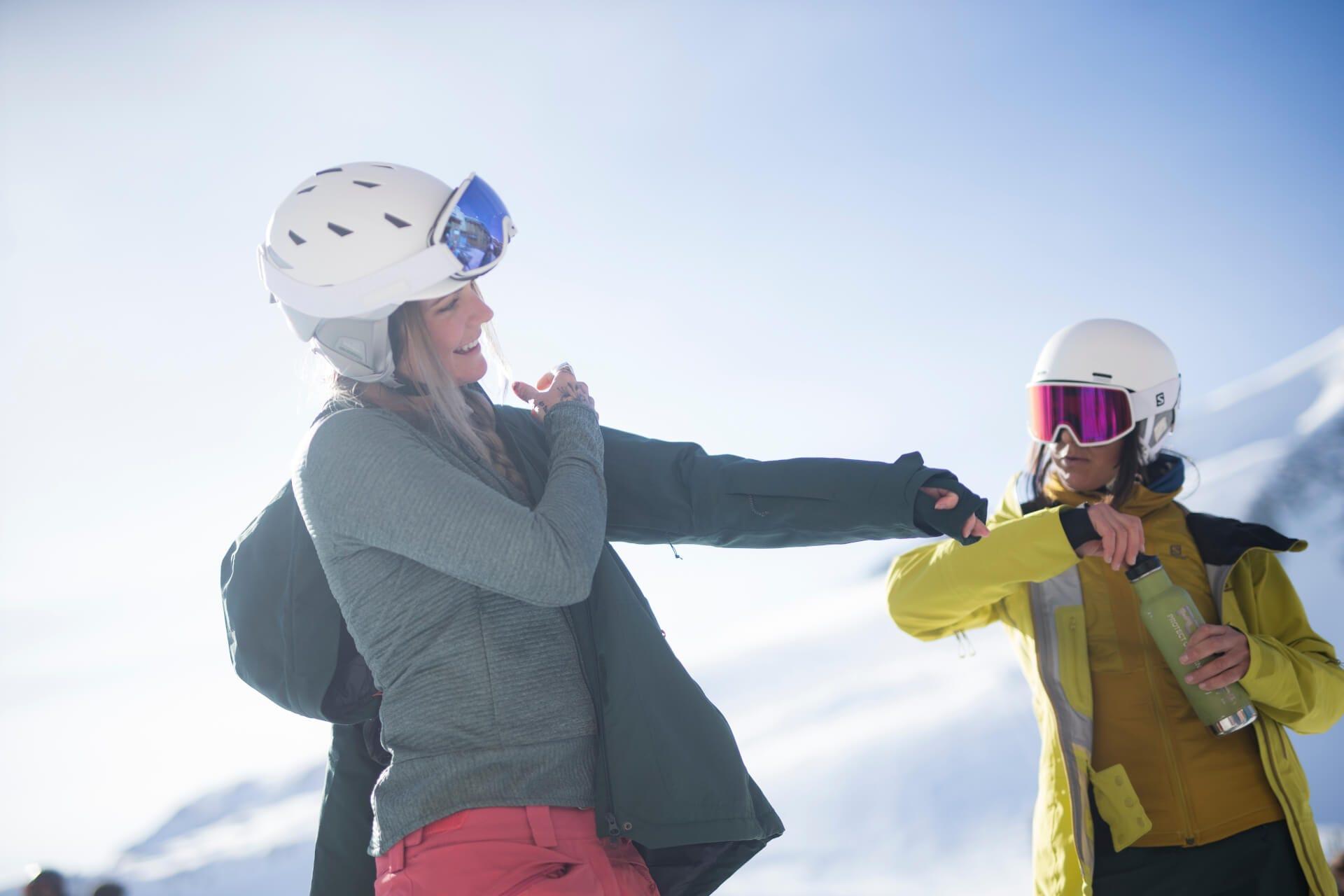 Come vestirsi per lo sci?