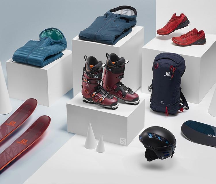SALOMON Running Shoes And Clothing Trail Hiking Ski