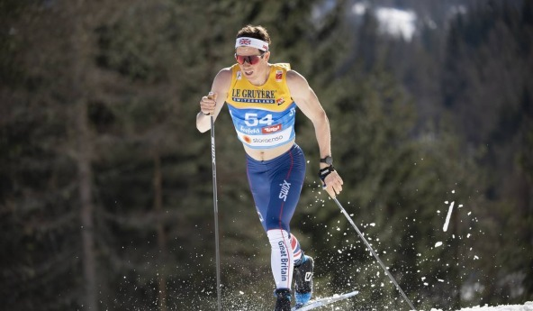 Andrew Musgrave during 15km Classic in Seefeld 2019 WSC