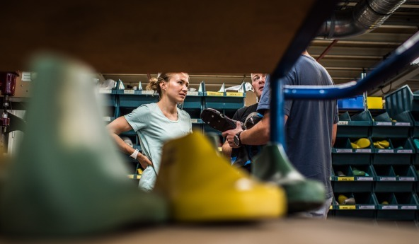 Salomon Factory Tour with Nordic Ski Athlete Sophie Caldwell