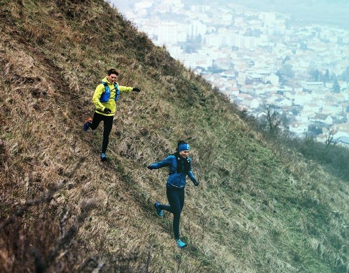 Correr en descensos
