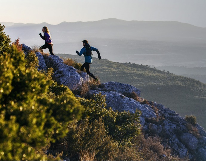 How do you run uphill?