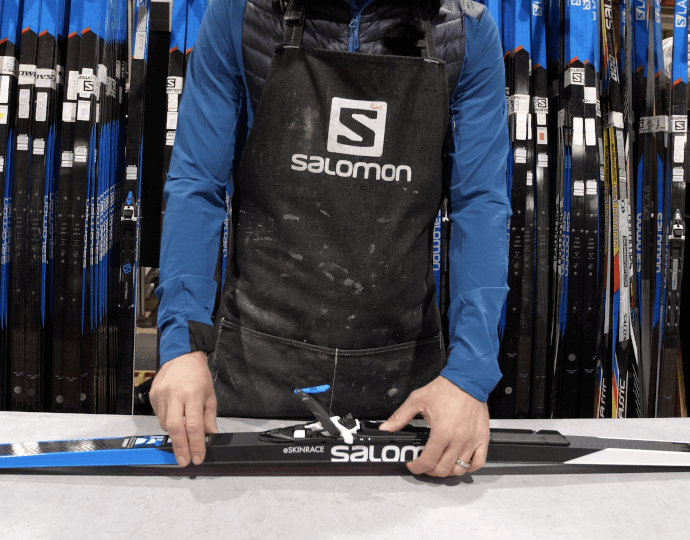 How to adjust your cross-country ski bindings?