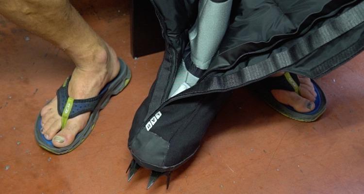 Footwear for Everest