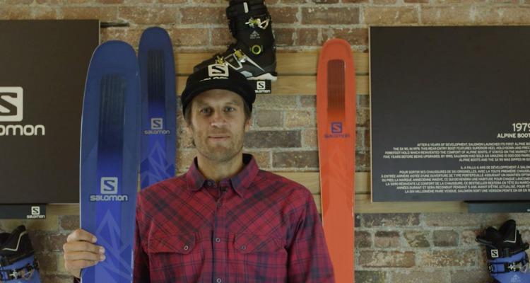 Cody Townsend talks QST Skis