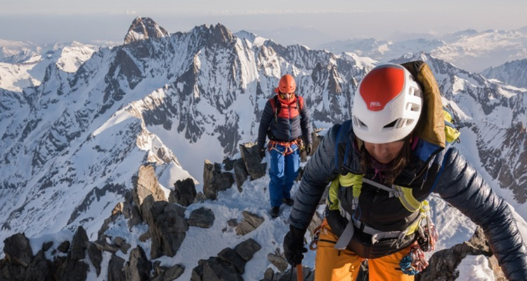 Climbing the 4,000-meter peaks of the Alps