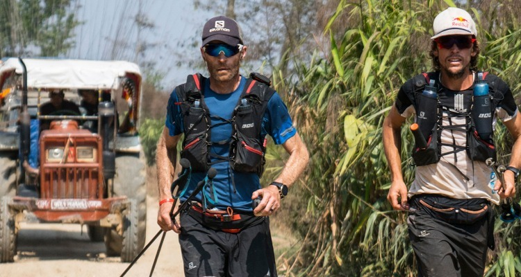 Ryan Sandes 1,504-km Himalayan Adventure