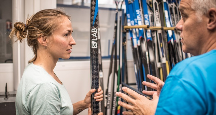 Factory Tour with Nordic Athlete Sophie Caldwell