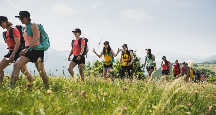 Salomon WMN Camp in Montenegro