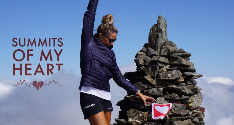 Claire Dupont climbs the Summits of her Heart