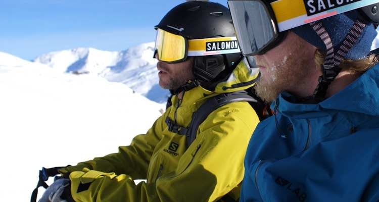 Ski testing with the MTN Collective