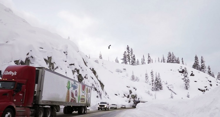 Josh Daiek's Biggest Backflip over Highway 50