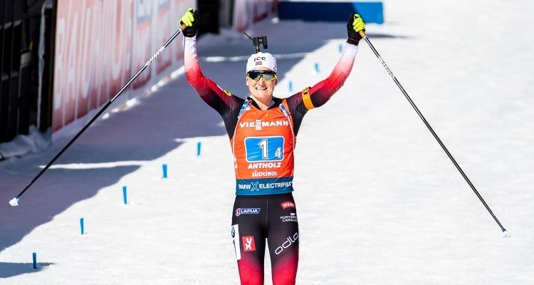 Q&A with Marte Olsbu Røiseland after 5 gold medals at Biathlon World Champs
