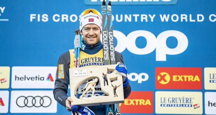 Røthe fastest with lightweight  setup