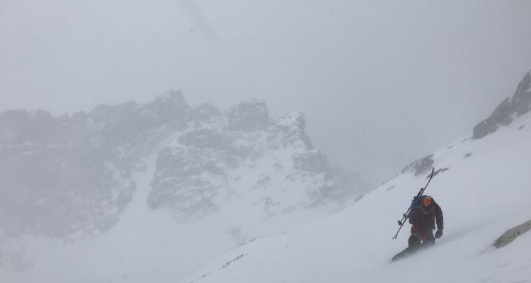 Skiing Nez Perce