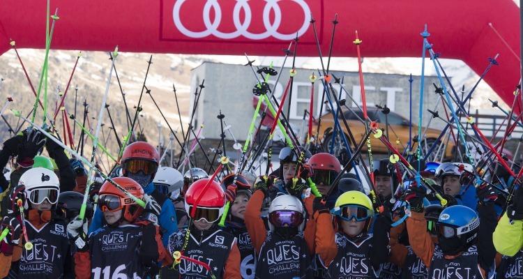 Vuelve la Audi Salomon Quest Challenge, la competición por equipos en la nieve