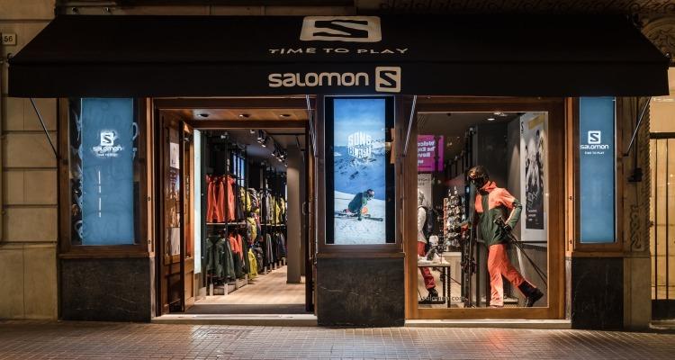 Salomon inaugura nueva Brand Store en Barcelona