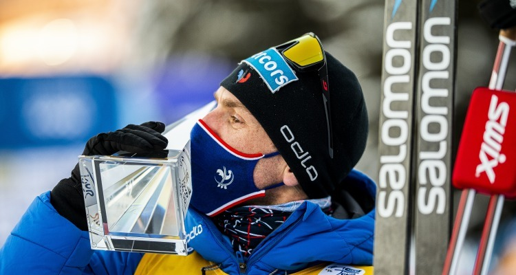Maurice Manificat claims first french podium on Tour De Ski