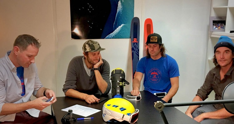 A Chat with Salomon Freeski Athletes