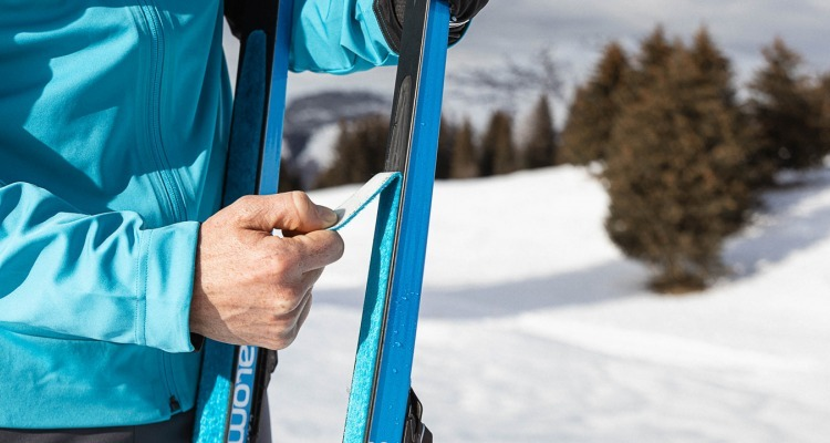 How to replace your classic cross-country ski skins